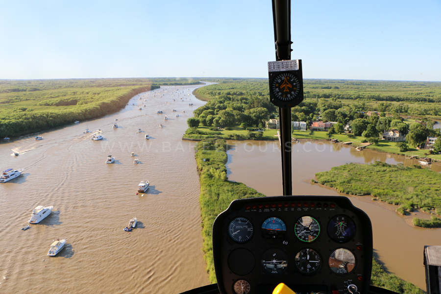 Helicopter charter Buenos Aires