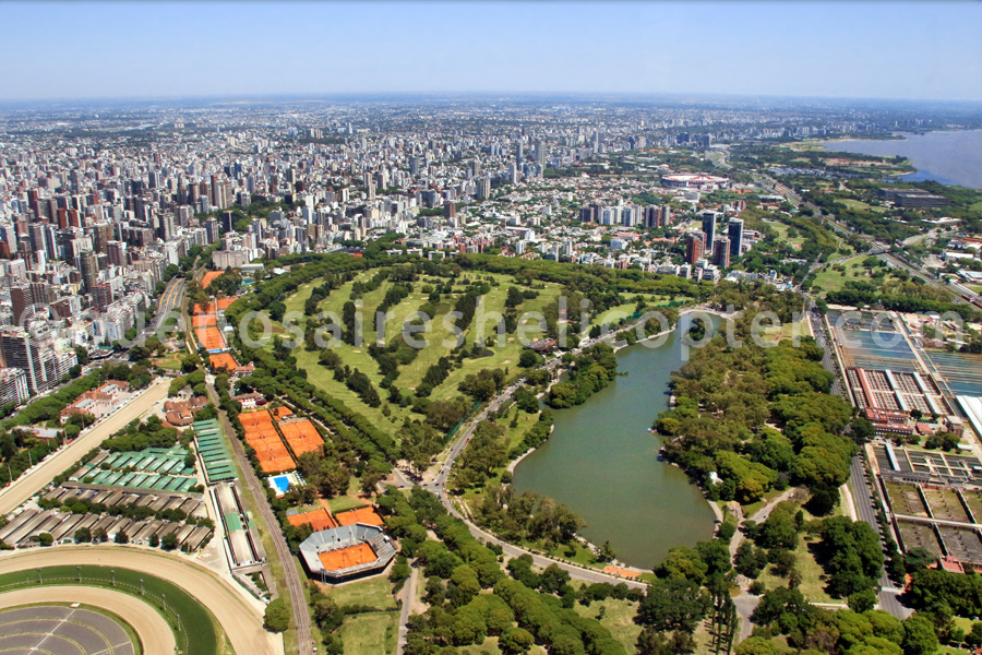 Golf course of Buenos Aires