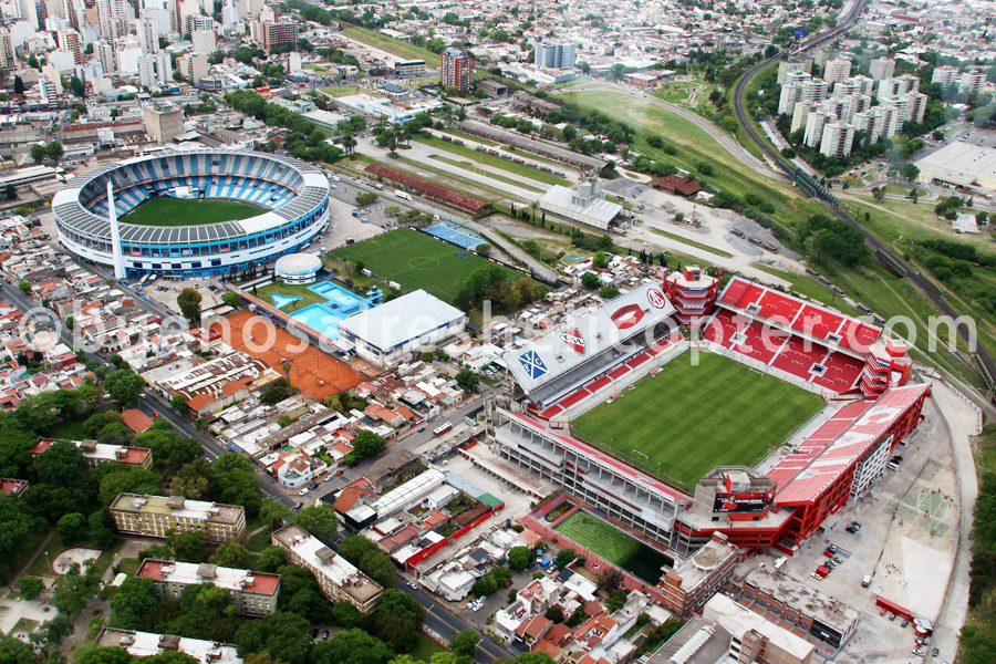 Racing and Independiente soccer stadiums